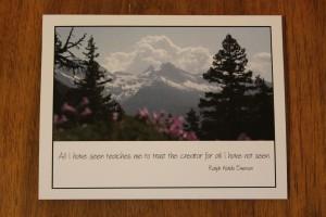 creator card